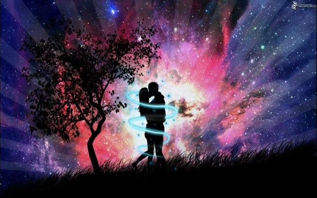 silueta-de-una-pareja,-abrazar,-beso,-universo,-arte-digital-151893